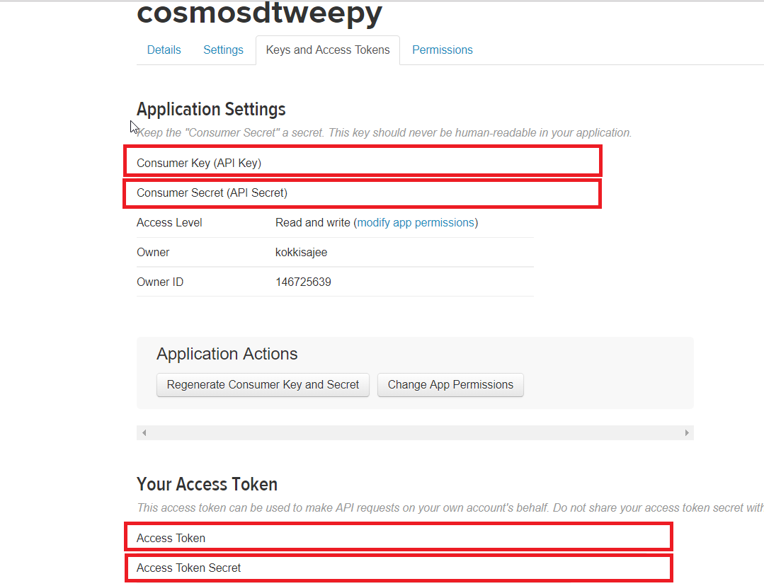 Streaming Live Tweets from Twitter to CosmosDB – Virtual Notepad