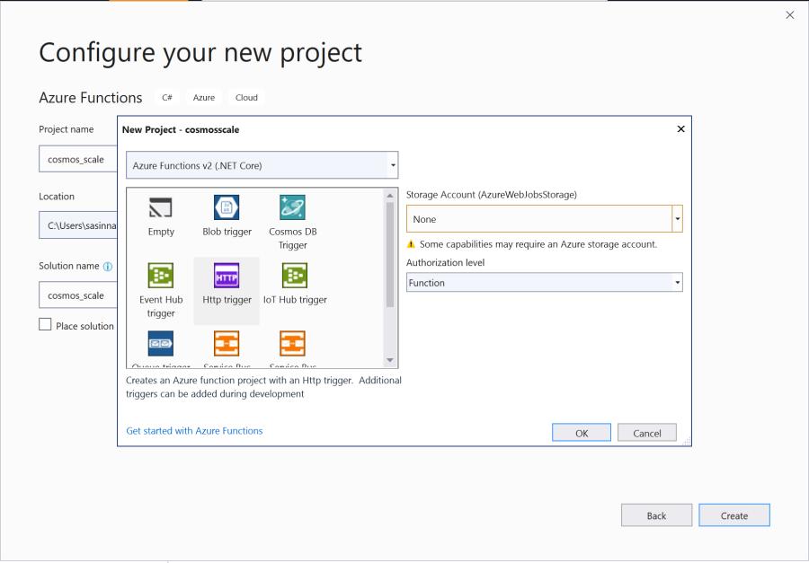Programmatically change CosmosDB Request Units(RU) with Azure
